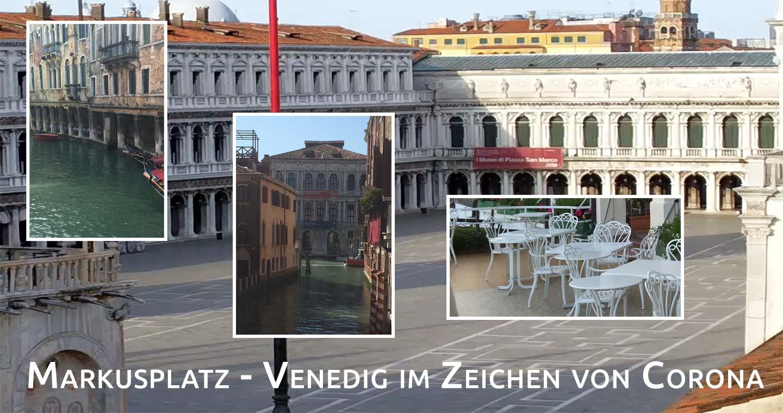 Angst - Menschenleere Stadt Venedig